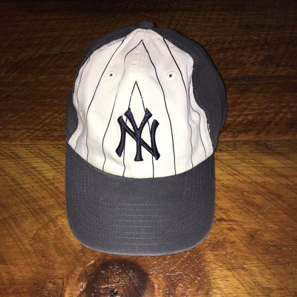 New York Yankees pinstripes hat. M 5ace2b3c6bf5a62db96bc342 05578f42fe2
